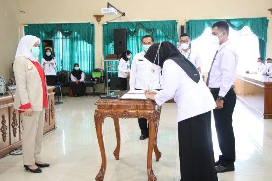 479 PPPK di Lingkungan Pemerintah Kabupaten Bojonegoro Terima SK