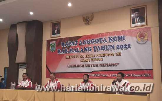 KONI Kabupaten Malang Siap Terima Vaksinasi Covid-19