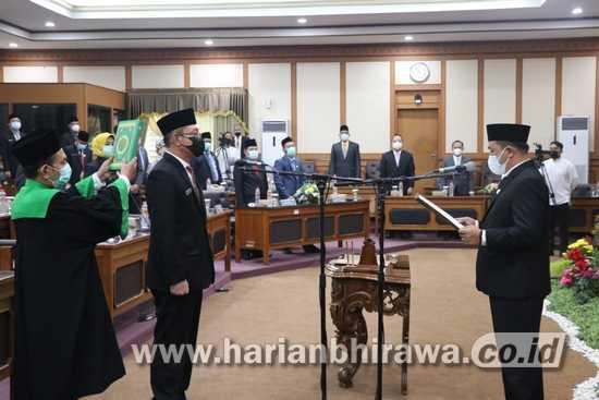DPRD Gresik Gelar Paripurna PAW Ubaidi Gantikan dr Alif Mundur