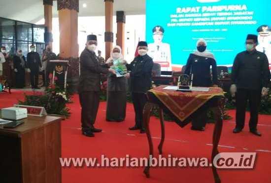 Bupati Beber 9 Program Prioritas di Depan Pimpinan DPRD