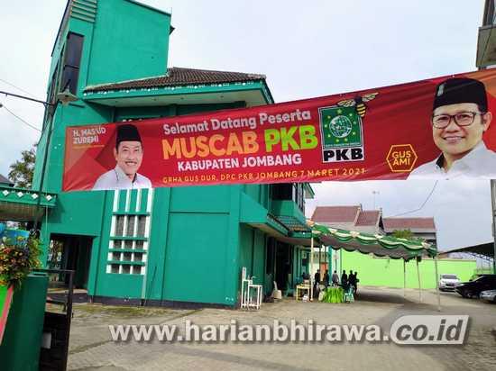 Hadi Atmaji Terpilih Sebagai Ketua DPC PKB Jombang 2021-2026