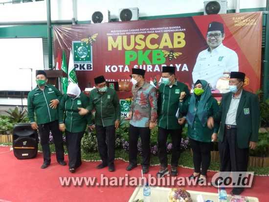 Musyafak Rouf Kembali Terpilih Jadi Ketua DPC PKB Surabaya