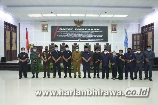 Pemkot Sampaikan Tiga Ranperda ke DPRD Kota Malang