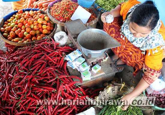 Harga Cabai Rawit Tinggi di Kota Pasuruan, Disperindag Lapor ke Provinsi Jatim