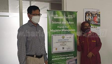 Pertama di Jatim, Prodi Magister Manajemen STIE Perbanas Terakreditasi Unggul