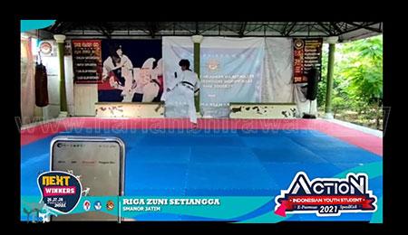 Kejurnas Taekwondo Indonesian Youth Student, Siswa SMANOR Raih Emas dan Perak