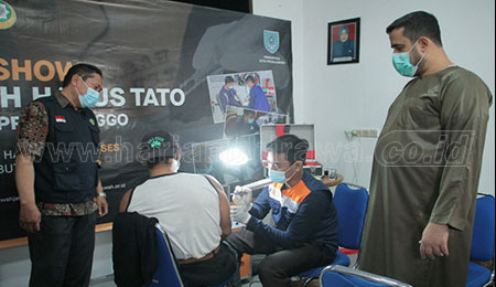 Hijrah Hapus Tato di Rumah Dinas Wali Kota Probolinggo
