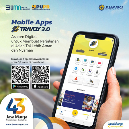 Inovasi Jasa Marga, Travoy 3.0 Serasa Miliki Asisten Digital di Perjalanan
