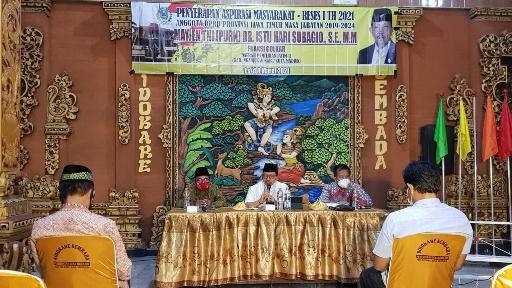 Harga Gabah Anjlok Jelang Panen Raya di Nganjuk, Jenderal Istu Disambati Petani