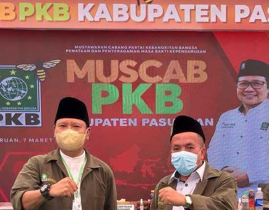 Gus Irsyad dan KH Mujib Pimpin DPC PKB Kabupaten Pasuruan