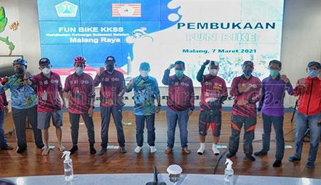 Fun Bike KKSS Malang Raya Diberangkatkan Secara Virtual