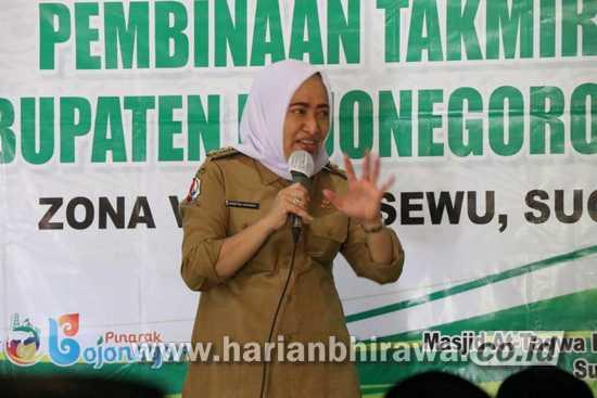 115 peserta Takmir Masjid Dapat Pembinaan dari Bupati Bojonegoro