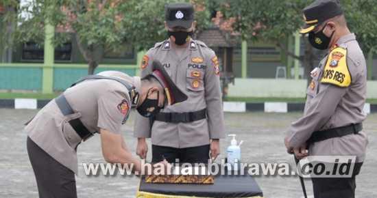 Sertijab Kasatreskrim Polres Sampang