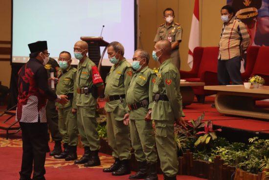 Bangkitkam Semangat Kerja, Wali Kota Malang Naikkan Insentif Linmas