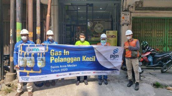 Dukung Pemulihan Ekonomi, PGN Medan Layani Hotel dan UMKM Baru