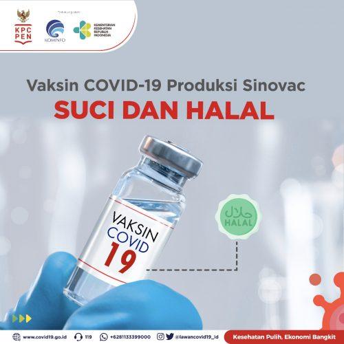 Jajaran Birokrasi Pemkab Sidoarjo Diyakinkan Vaksinasi Covid-19 Halal