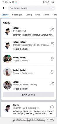 Waspada, Akun facebook Wali Kota Malang Dibajak