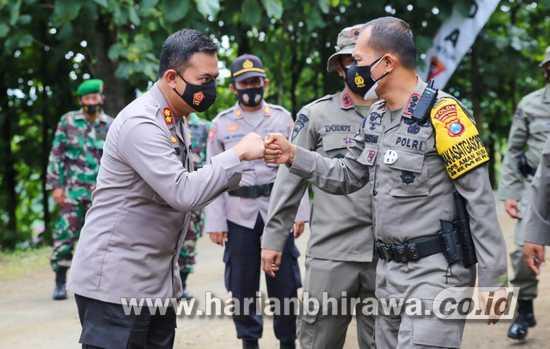 Kapolres Jombang Hadiri Pembukaan Pelatihan PHH dan AA Lanjutan Sat Brimob Polda Jatim