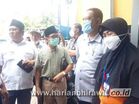 Komisi III  DPRD Situbondo Sidak Kawasan Pertokoan Jalan Ahmad Yani