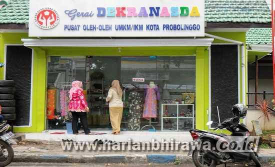 Wadahi Promosi UMKM, Dekranasda Dirikan Gerai Oleh-oleh Khas Kota Probolinggo