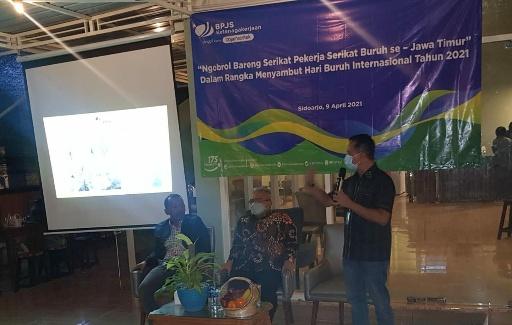 BPJamsostek Dorong Gubernur Khofifah Segera Eksekusi Inpres No.2/2021