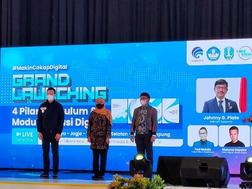 Kemenkominfo Optimis Jatim Mampu Jadi Provinsi dengan Sasaran Literasi Digital Terbesar