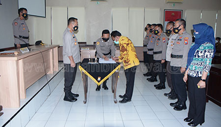 112 Pendaftar Lulus Rikmin Awal Penerimaan Polri 2021