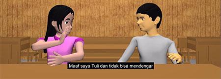 Kenalkan Bahasa Isyarat Lewat Film Pendek Animasi