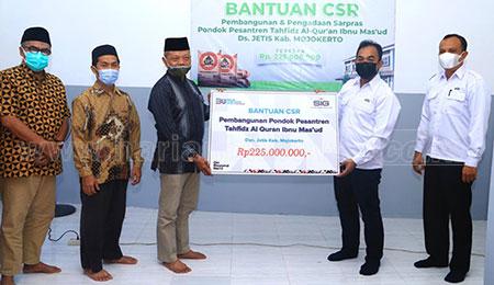 SIG Bantu Pembangunan Ponpes Tahfidz AlQuran di Mojokerto