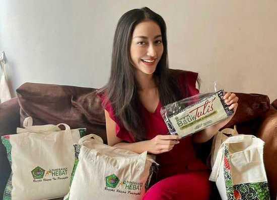 Batik Tulis Pamekasan Jadi Souvernir Ajang Miss Universe 2021 di AS