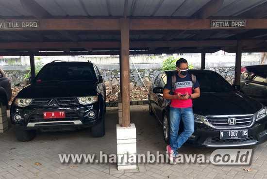 Kendaraan Dinas Jabatan Pimpinan DPRD Kabupaten Pasuruan Dikembalikan