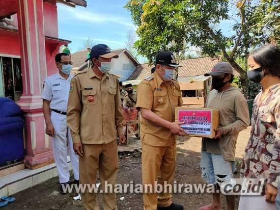 Dua Desa Kecamatan Wringin Bondowoso Dihantam Puting Beliung