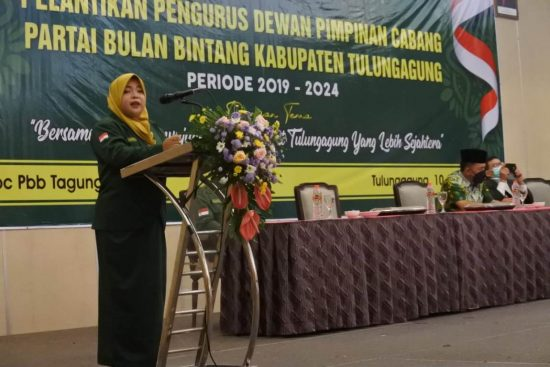 Ketua Baru DPC PBB Tulungagung Programkan 8.000 Pupuk Gratis Petani