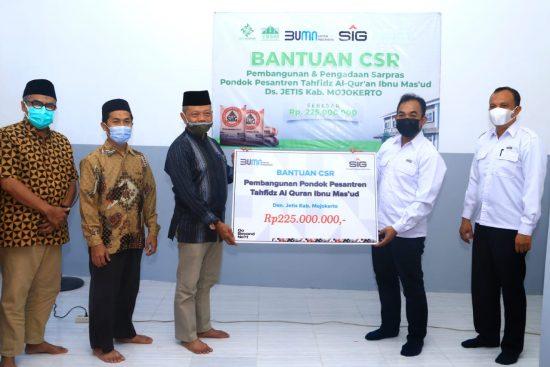 SIG Berikan Bantuan Pembangunan Ponpes Tahfidz Al-Qur'an di Mojokerto