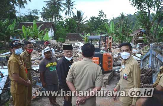 Pemkab Malang Gerak Cepat Bangun Rumah Warga Terdampak Gempa