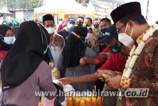 Manfaatkan Ramadan, Bumdes Desa Telasih Sidoarjo Gelar Bazar Kuliner