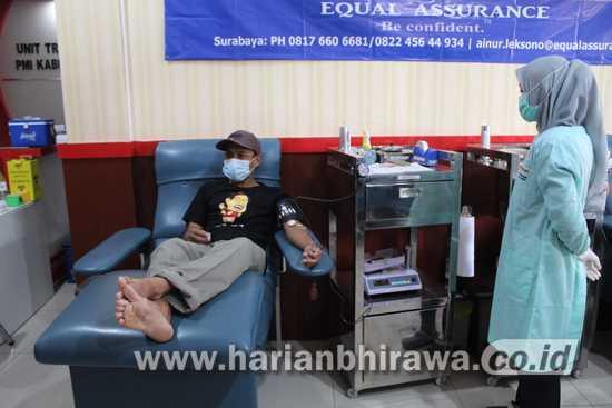 Siswojo:  Stok  Darah  di  PMI  Cabang  Kabupaten  Jombang  Menipis