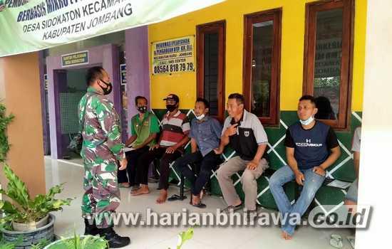 Ramadan, Kodim 0814 Jombang Aktif Sosialisasikan Vaksinasi Covid-19
