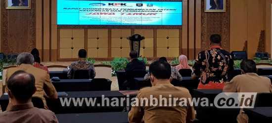 Wali Kota Madiun Ikuti Rakorwasin BPKP Jawa Timur