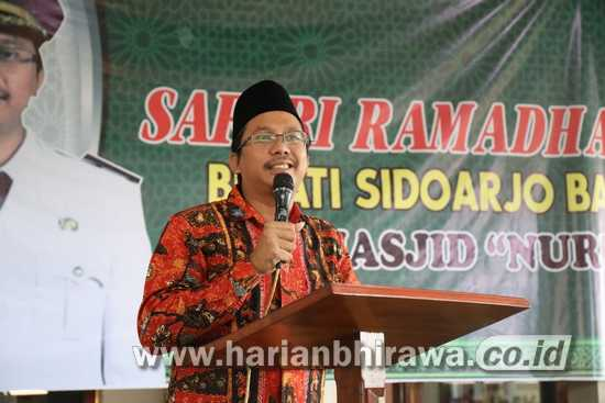 Bupati Sidoarjo Izinkan Sholat Idul Fitri di Masjid dan Mushola
