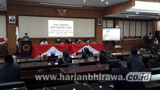 RPJMD Bupati Diterima Dewan dengan Catatan