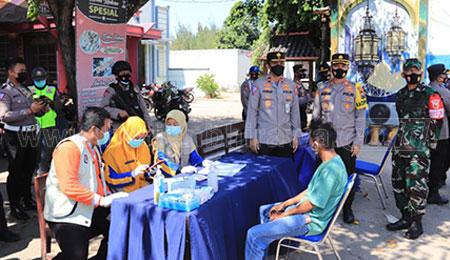 Dirregident Korlantas Polri Pantau Perbatasan Jateng-Jatim