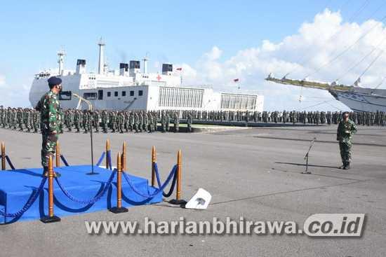 Pangkoarmada II Ingatkan Prajurit Amalkan Sapta Marga TNI