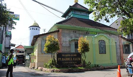 Sejarah Masjid Jamik Ponpes Bahrul Ulum Tambak Beras, Jombang