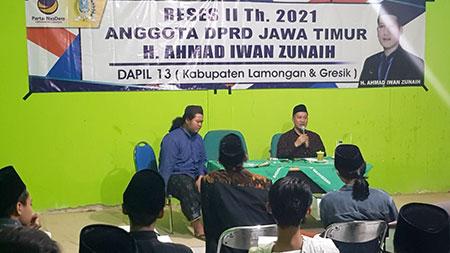 Reses, Gus Iwan Bedah Permasalahan Nelayan Pantura dari Kacamata Mahasiswa