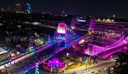 Mengunjungi Gedung Parkir dan Terminal Intermoda Joyoboyo