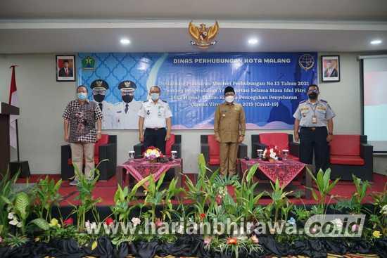 Wali Kota Malang Ajak Masyarakat Kawal Permenhub No 13  2021