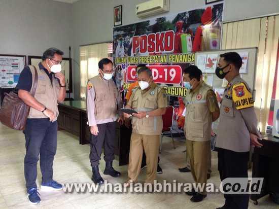 Satgas Penanganan Covid-19 Pusat Apresiasi Posko Tulungagung