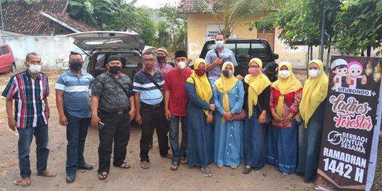 Perhutani Situbondo Peduli Dhuafa, Salurkan Bantuan Paket Sembako
