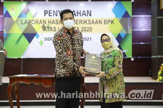 Pemkab Jombang Raih Opini WTP ke Delapan Kali dari BPK-RI